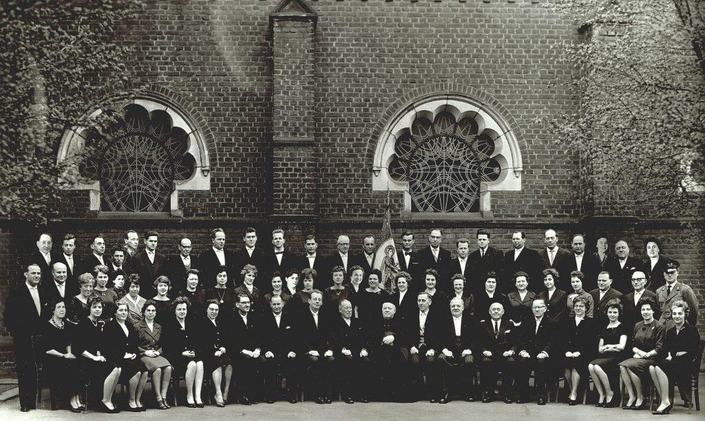 75-Jubiläum Kirchenchor 1961